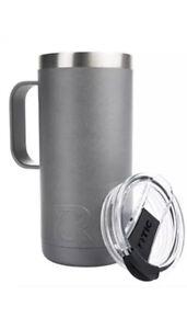 RTIC Travel Coffee Cup 16oz - Graphite