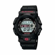 Casio Men's G-Shock Gulfman Tide graph Moon display Black Resin Watch G9100-1