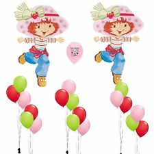Strawberry Shortcake Party Supplies Birthday Party Balloons Decoration Kit