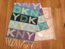 DKNY Wool Scarf Brand New - Donna Karan New York Unisex Soft Wool Scarf