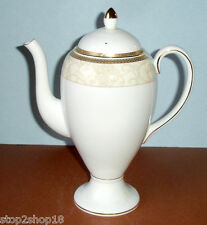 Wedgwood Celestial Gold Coffee Pot NEW