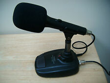 Black Windsock for Base Station Microphone Yaesu MD-100 may also fit other makes