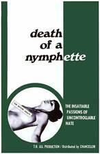 DEATH OF A NYMPHETTE Movie POSTER 27x40 Janet Banzet Rusti Carter Derf Renrug