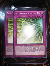 YU-GI-OH! COM ACCELERATEUR STRUCTURE-PSY MP17-FR162 PLAYSET (X2) NEUF ED1 FR