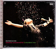 Adriana Calcanhotto, Microbio Vivo  ( Multishow ao vivo ) ( CD_Digipack )
