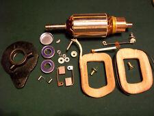 Delco Starter Generator Master Rebuild kit Field Coils 2 Bearing Armature CW