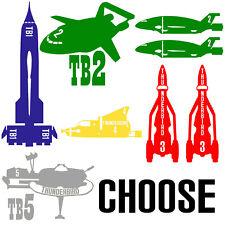 Thunderbirds Thunderbird 1 2 3 4 5 Ship (CHOOSE) Vinyl Decal Sticker Car Laptop