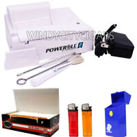 PowerRoll 2 BUNDLE Cigarette Tobacco Machine - RYO Power Roll King Size & 100MM