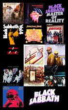 "BLACK SABBATH album cover discography magnet (3"" x 4.5"") deep purple rainbow"