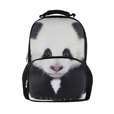 Panda Print Backpack Women College School Bag Bookbags Shoulder Satchel Daypacks