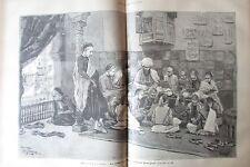 JOURNAL DES VOYAGES N° 677 de 1890 EGYPTE LE CAIRE ECOLE CORANIQUE / COUGUAR