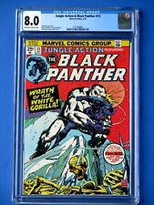 Jungle Action #13 - Featuring Black Panther - CGC 8.0 - White Gorilla Appearance