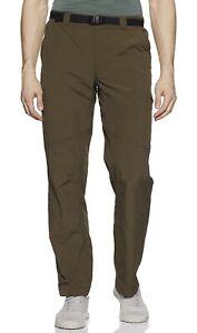 Columbia Mens Silver Ridge Cargo Pants Size 42 x 34 Olive Green Omni-Shade NEW
