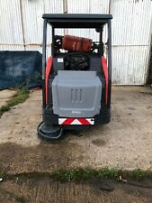 More details for sweeper ride on sweeper gas hako 1500 v