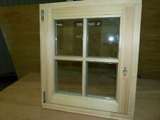 Holzfenster mit echten Sprossen