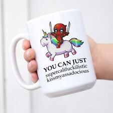 Deadpool Unicorn Coffee Mug Funny Rude Saying Ceramic Coffee Tea Cup Mug
