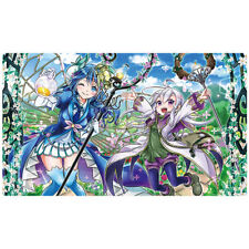 FREE SHIPPING Custom Yugioh Playmat Aromage Playmat Jasmine Rosemary CORE EN034