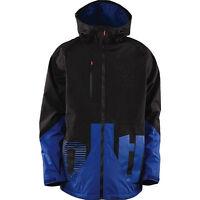 THIRTYTWO Men's DELTA Snow Jacket - Black/Blue - Medium - NWT