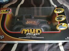 JEEP mud slinger full function radio control vechicle 6+ yrs ##ss 242 lc