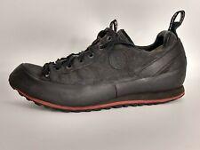 Hanwag Rotpunkt Approach Shoes Hiking Black Sz 11.5 Lace-Up Vibram Men's