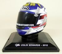 Altaya 1/5 Scale - Colin Edwards 2012 Arai Moto GP Helmet with Plinth and Case