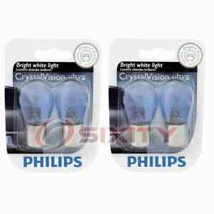 2 pc Philips Brake Light Bulbs for Cadillac BLS 2007-2008 Electrical bp