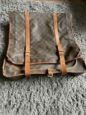 Louis Vuitton Suit Cover Case Travel Carrier Bag With Hangers