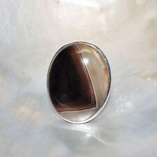 Achat Ring, 925er Silber, Edelsteinring (20137), Edelsteinschmuck