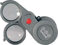 3x6 Precision Top Quality Folding Magnifier Loupe 23mm 3X+6X=9X Eschenbach