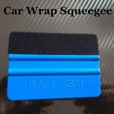 5 SPATOLE 3M PROFESSIONALI PELLICOLE CON FELTRO CAR WRAPPING OSCURAMENTO VETRI