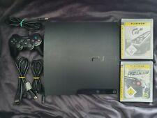 Sony PlayStation 3 Spielekonsole inkl. Controller, Kabeln und 2 Spielen