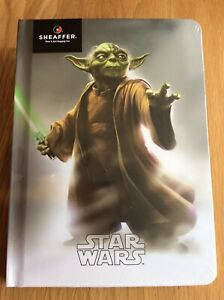 Sheaffer Disney Star Wars 'Yoda' A5 Hard Back Lined Notebook 160 Pages