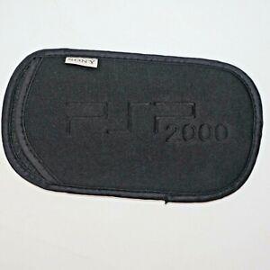 Genuine/Original SONY PSP Playstation Portable Black Soft Padded Case/Sleeve OEM