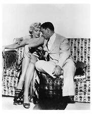 THE SEVEN YEAR ITCH still MARILYN MONROE & TOM EWELL - (d677)