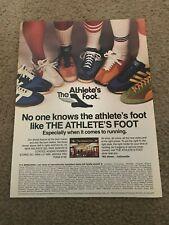 1977 NIKE SENORITA CORTEZ LD 1000 Running Shoes Poster Print Ad ADIDAS SL72 PUMA
