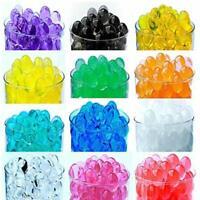 Water Beads Pearl Jelly Gel Crystal Soil Mud 1,000-10,000 Pcs Bulk Deco Beads
