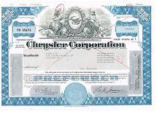 Chrysler Corporation, 1983, blue, scarce type