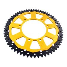 Sprocket Dual 62Z Pitch 420 Gold Zfd-1131-62-Gld For Gilera Smt 50 Supermotard