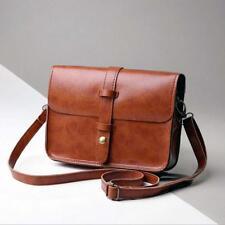 Women Vintage Purse Leather Cross Body Shoulder Messenger Bag Various Color Hot
