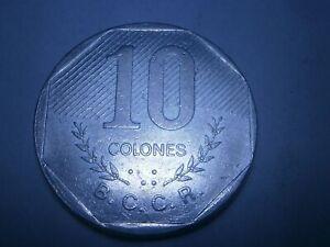 """""""10 COLONES"""" 1983 REUPLICA DE COSTA RICA COIN - CENTRAL AMERICA - FREE POSTAGE"""