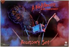 """A NIGHTMARE ON ELM STREET 7"""" inch Scale Deluxe Accessory Set Neca Reel/Toys 2018"""
