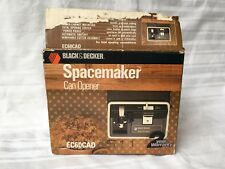 Vintage Black & Decker Spacemaker Can Opener Space Saver EC-60CAD Under Cabinet