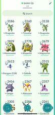 Pokemon Go ✨SHINY - Community Day LEGACY MOVES (Registered or 30 Days)