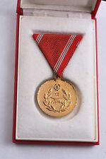 Hungary Hungarian Medal Reservist Duty Military 15 Year Reserves Armed Force Box