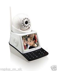 HD Network Wifi P2P IP Camera Video Call Phone Recorder LCD Monitor Module