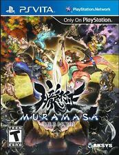 Muramasa Rebirth  (PlayStation Vita) BRAND NEW / Region Free