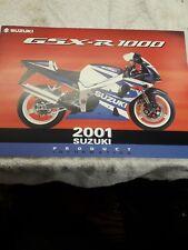 2001 Suzuki Gsx-r 1000 Brochure