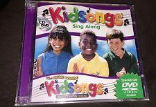 Kidsongs Sing Along Collection by Kidsongs CD & Bonus DVD Video Brand New
