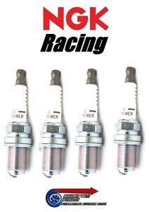 Set 4x Colder NGK V-Power Racing Spark Plugs HR7 For Mazda MX5 NA 89- B6ZE 1.6