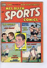 Mel Allen Sports Comics #6 Better Pub  1950 CANADIAN EDITION